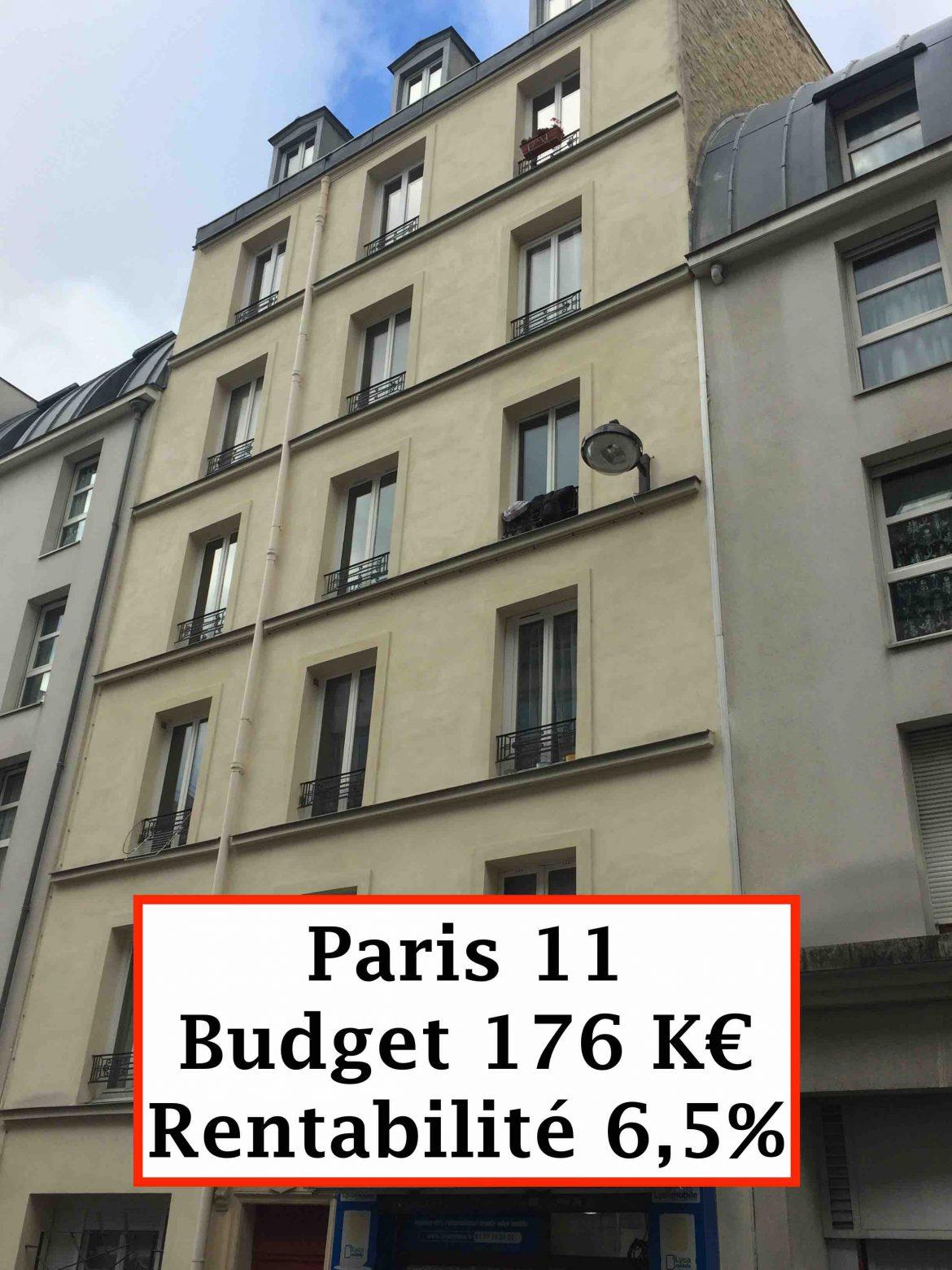 Opportunité Paris 11