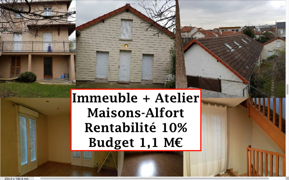 Immeuble Maisons Alfort 10%
